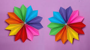 How To Make A Flower Out Of Paper Step By Easy