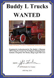 100 Vintage Tow Trucks For Sale Buddy L Wrecker Truck Buddy L Museum