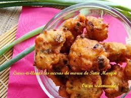 cuisine recette recette pour des accras de morue toujours réussis