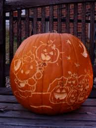 Snoopy Halloween Pumpkin Carving by Pumpkin Carving Let Them Eat Cake