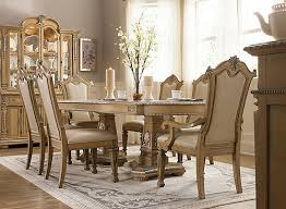 the wilshire 7 piece dining set is what comes to mind when we