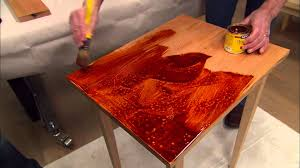 Staining and Finishing Wood