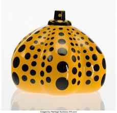 Yayoi Kusama Pumpkin Sculpture by Yayoi Kusama Yellow Pumpkin Artsy