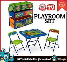 Kids Table And Chair Set Toy Organizer Children Toddler Playroom ... Teenage Mutant Ninja Turtles Childrens Patio Set From Kids Only Teenage Mutant Ninja Turtles Zippy Sack Turtle Room Decor Visual Hunt Table With 2 Chairs Toys R Us Tmnt Shop All Products Radar Find More 3piece Activity And Nickelodeon And Ny For Sale At Up To 90 Off Chair Desk With Storage 87 Season 1 Dvd Unboxing Youtube