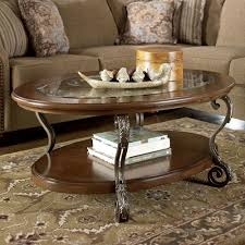 Signature Design by Ashley Nestor Oval Cocktail Table Furniture