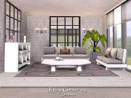 living corner 04 the sims 3 catalog