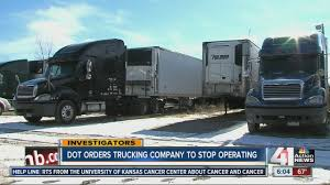 Olathe Trucking Co. Ordered Off The Road - YouTube