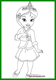 Amazing Disney Baby Princesses Coloring Pages Picture Of Princess Rapunzel Trend And Jpg Quality 80 Strip