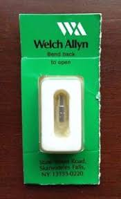 welch allyn replacement bulb 2 5v genuine 02100 new sealed ebay