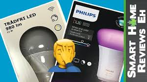 philips hue white ambiance vs ikea tradfri one of these