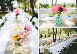 Interesting Budget Flower Wedding Centerpiece