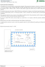 wt41u wt41u range bluetooth 2 1 edr module test report