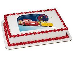 Cars 3 cake topper