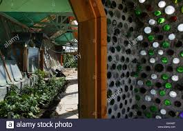 100 Self Sustained House An Earthship A House Made Of Recycled Tires Bottles And Cans In