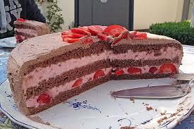 erdbeer schoko torte beste essen