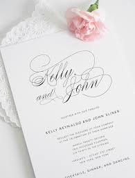 Receive A Free Wedding Invitation Sample And Experience Our Stunning Design High Quality Signature Shimmer Cardstock In Person