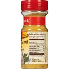Mccormick Pumpkin Pie Spice Nutrition Facts by Mccormick Adobo Seasoning With Pepper 7 37 Oz Walmart Com