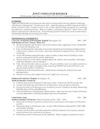 Remarkable Nursing Student Resume Profile On Clinical Experience