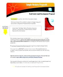 Commercial Real Estate Executive Summary Template Image Collections Investment