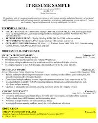 Education Sample How To Write Proper Resume