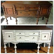 Antique Buffet Table Ideas About On Painted Value