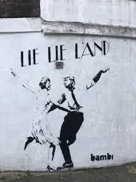 Famous Graffiti Mural Artists by Street Artist Bambi Unveils Dancing May And Trump Mural In London