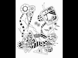 Strange Designs Coloring Book By Kimberly Garvey
