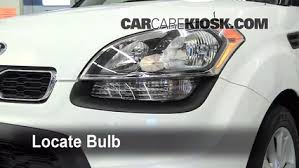 headlight change 2010 2013 kia soul 2012 kia soul 2 0l 4 cyl