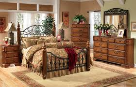 Wrought Iron And Wood King Headboard by Alluring Decorating Ideas Using Rectangular Brown Wooden Headboard