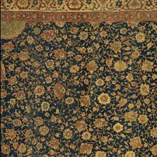 Detail Showing The Filler Patterns In Ardabil Carpet
