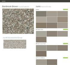 Daltile Quarry Tile Canyon Red by Bainbrook Brown Granite Collection Natural Stone Slabs Daltile