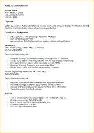 Drafter Resume Sample