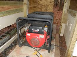 Portable Generator Shed Plans by I Made My Generator Shed Larger Today To Cool Things Down In There