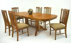 Oak Chairs For Dining Table Cute Sets Oval On With Second Hand And
