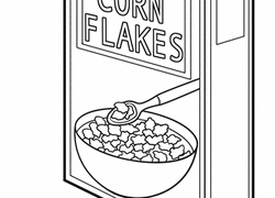 Coloring Pages For Corn Flakes Ideas