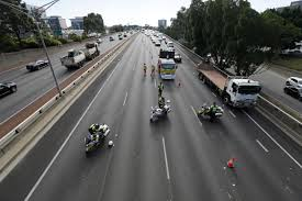 100 Truck Hits Overpass Hits Overpass On Mitchell Freeway South Near Hay Street