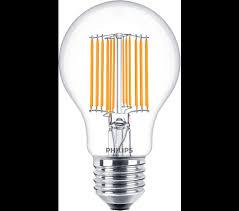 led a60 3 60w e27 cl nd 830 classic filament led ls philips