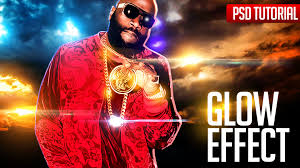 shop Tutorials Glow Effects for Mixtape Cover Flyer Party