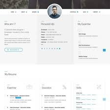 Responsive Resume Template Free Github 15 Best Templates For Awesome Personal Sites Regarding
