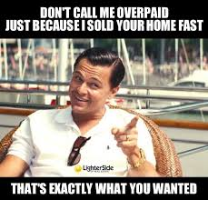 Wolf Of Wall Street Real Estate Meme