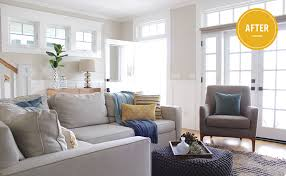 West Elm Bliss Sofa Bed by Before After Brighten Up A Beach Home Front Main