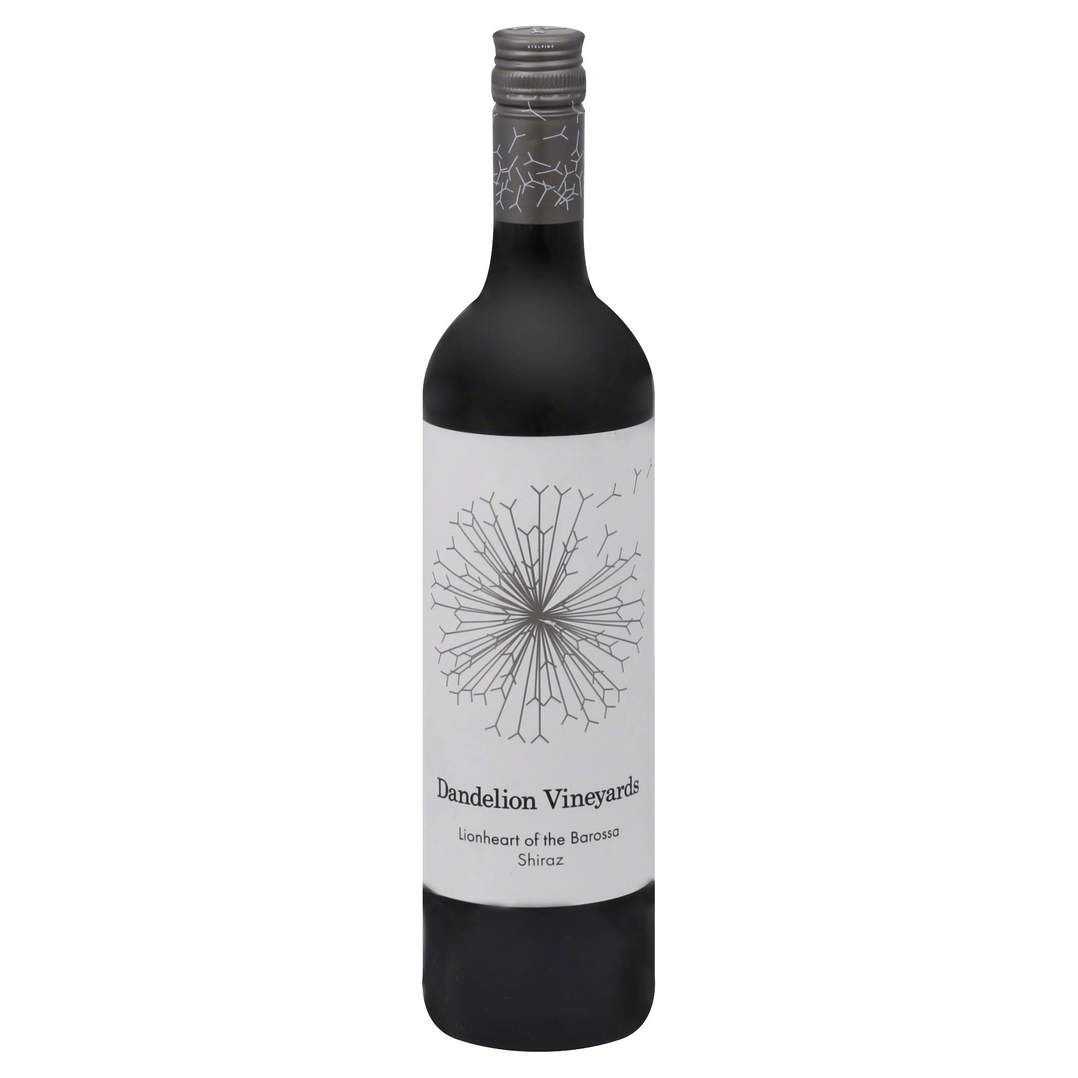 Dandelion Vineyards Shiraz, Lionheart of the Barossa, 2010 - 750 ml