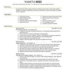 Truck Driver Resume Sample Create Resumes Template Australia Cdl Job