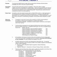 9 Physical Therapist Resume Template Ideas Resume Template