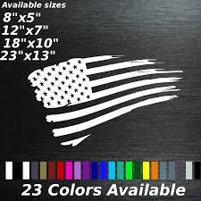 100 Ford Stickers For Trucks Tattered American Flag Decal Sticker Trucks And 50 Similar Items