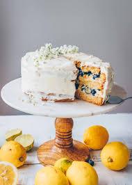 zitronen blaubeertorte mit weißer schokoladencreme klara s