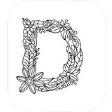 Drawing Letter D Vector Image Of Signs Symbols Maps © Dyha1965