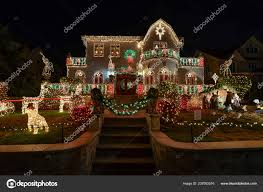 100 Decoration Of Homes Vividly Decorated Christmas Stock Editorial Photo