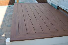Hardwood Floor Spline Home Depot by Veranda Armorguard 1 In X 5 1 4 In X 12 Ft Nantucket Gray