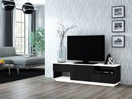 agnes rtv lowboard tv board sideboard weiß schwarz sonoma hochglanz 160 cm esa home